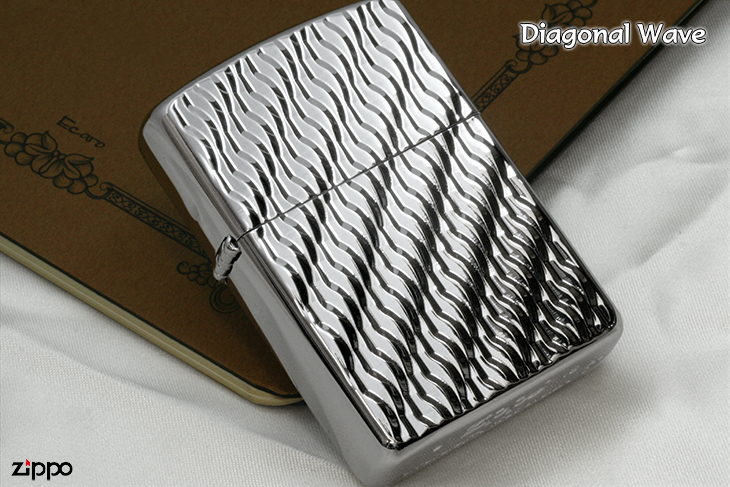Zippo ジッポー Diagonal Wave B WN