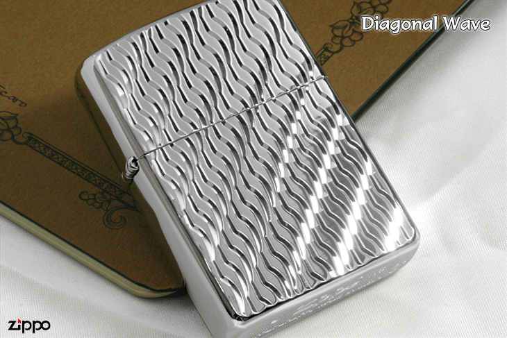Zippo ジッポー Diagonal Wave PT