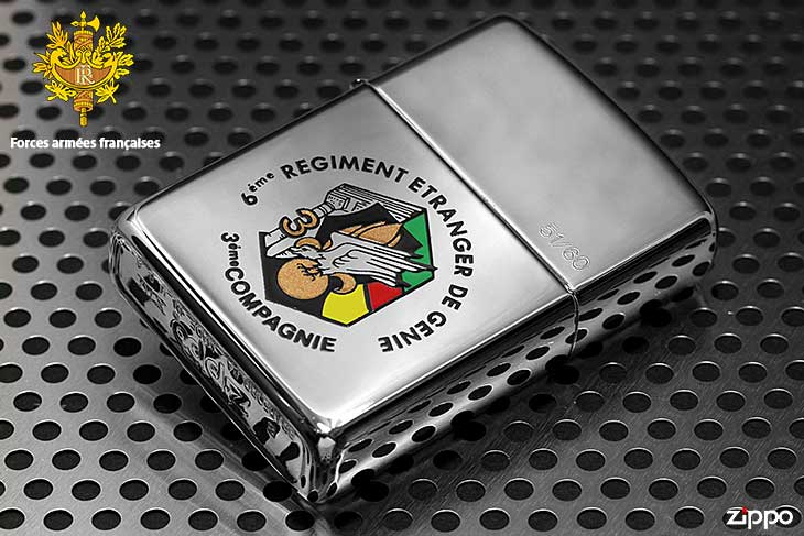 Zippo ジッポー 絶版・1998年製造 フランス軍 ARMED FORCES FRENCH 14