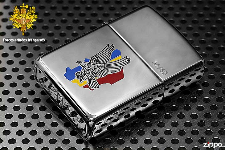 Zippo ジッポー 絶版・1998年製造 フランス軍 ARMED FORCES FRENCH 22