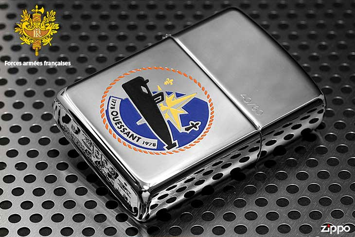 Zippo ジッポー 絶版・1998年製造 フランス軍 ARMED FORCES FRENCH 27