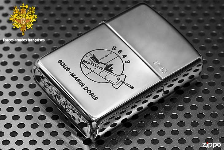 Zippo ジッポー 絶版・1998年製造 フランス軍 ARMED FORCES FRENCH 33