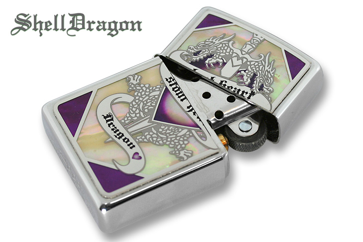 Zippo ジッポー Shell Dragon SHD-PR